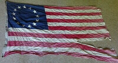 Valley-Forge-Pioneer-Betsy-Ross-DISTRESSED-WORN-TATTERED-American-Flag